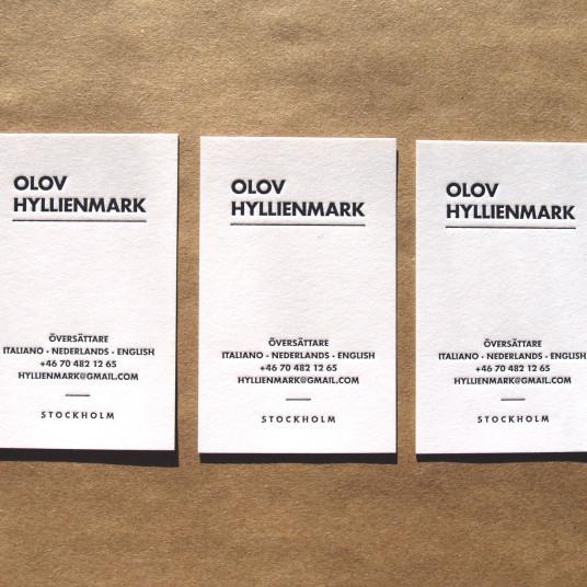 Olov Hyllienmark