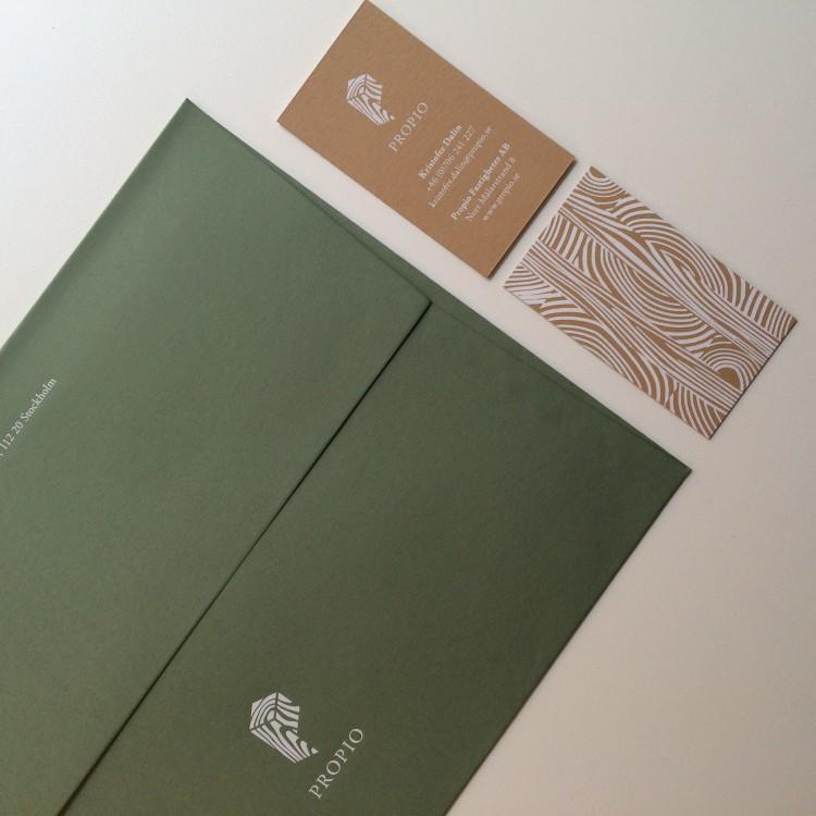 Kuvert & Visitkort Propio